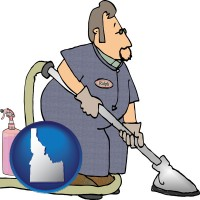 idaho a carpet cleaner using carpet cleaning products