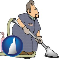 new-hampshire a carpet cleaner using carpet cleaning products