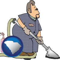south-carolina a carpet cleaner using carpet cleaning products