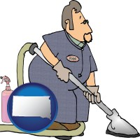 south-dakota a carpet cleaner using carpet cleaning equipment and supplies