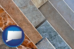 connecticut ceramic tile samples