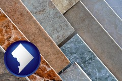 washington-dc ceramic tile samples