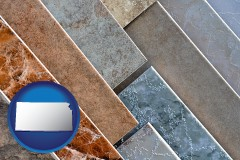kansas ceramic tile samples