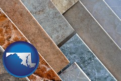 maryland ceramic tile samples