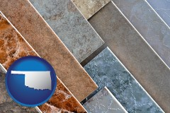 oklahoma ceramic tile samples