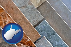 west-virginia ceramic tile samples