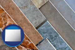 wyoming ceramic tile samples