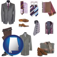 alabama men's clothing and accessories