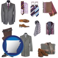 arkansas men's clothing and accessories