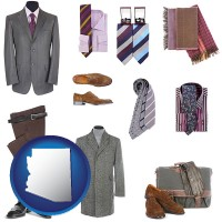 arizona men's clothing and accessories