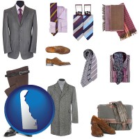 delaware men's clothing and accessories