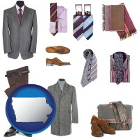 iowa men's clothing and accessories