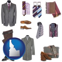 idaho men's clothing and accessories