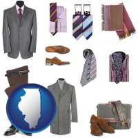 illinois men's clothing and accessories
