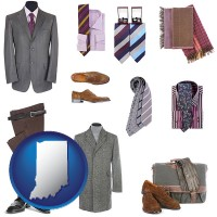 indiana men's clothing and accessories