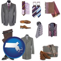 massachusetts men's clothing and accessories
