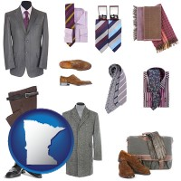 minnesota men's clothing and accessories
