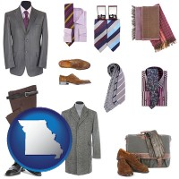 missouri men's clothing and accessories