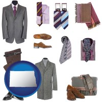 north-dakota men's clothing and accessories