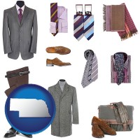 nebraska men's clothing and accessories