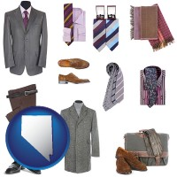 nevada men's clothing and accessories