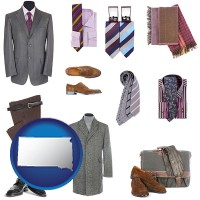 south-dakota men's clothing and accessories