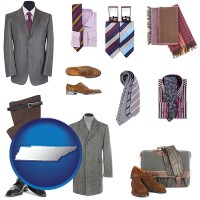 tennessee men's clothing and accessories