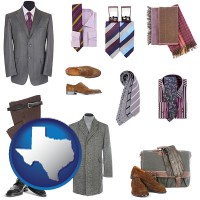 texas men's clothing and accessories