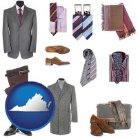 virginia men's clothing and accessories