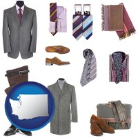 washington men's clothing and accessories