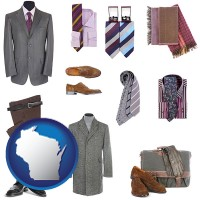 wisconsin men's clothing and accessories