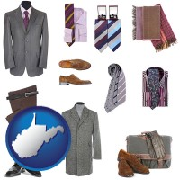 west-virginia men's clothing and accessories