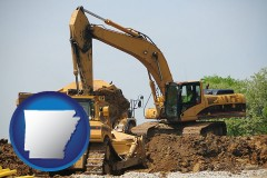 arkansas heavy construction equipment