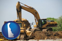 delaware heavy construction equipment