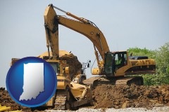 indiana heavy construction equipment