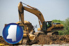 mississippi heavy construction equipment