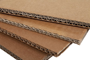 corrugated cardboard for boxes