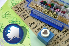 alaska scrapbooking craft supplies