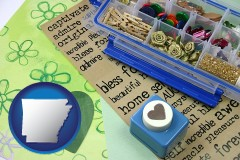 arkansas scrapbooking craft supplies