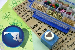 maryland scrapbooking craft supplies