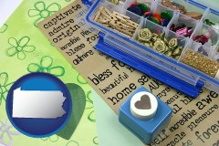 pennsylvania scrapbooking craft supplies