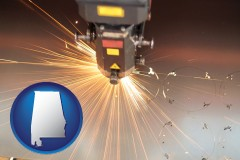 alabama a laser cutting tool
