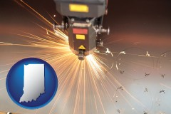 indiana a laser cutting tool