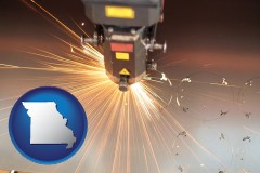missouri a laser cutting tool