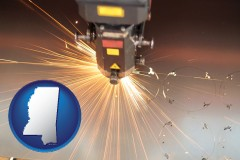 mississippi a laser cutting tool