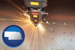 nebraska a laser cutting tool