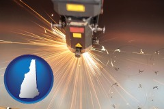 new-hampshire a laser cutting tool