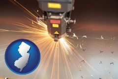 new-jersey a laser cutting tool