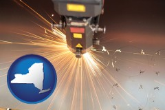 new-york a laser cutting tool