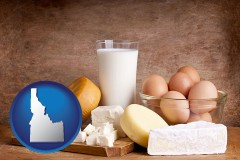 idaho dairy products